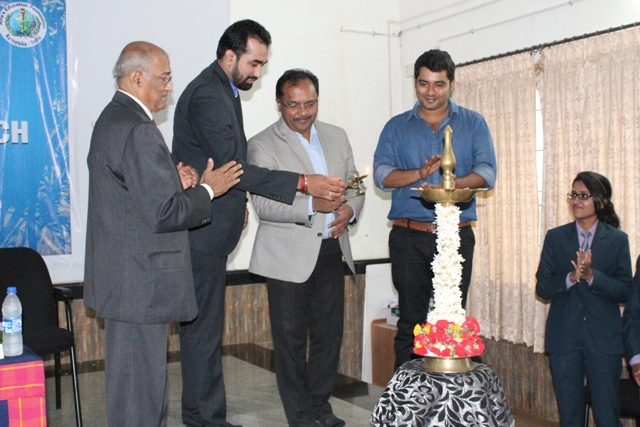 9th MBA BATCH INAUGURATED AT ALVA'S INSTITUTE OF ENGINEERING AND TECHNOLOGY