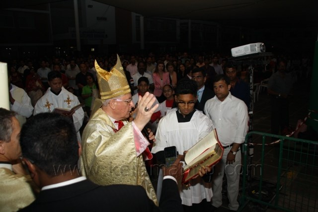The Easter Celebrations at St. Joseph's Cathedral, Abudhabi.