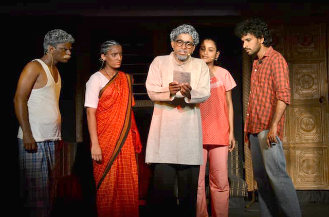 Chafra's Ankvar Mestri at the 212th Monthly Theatre