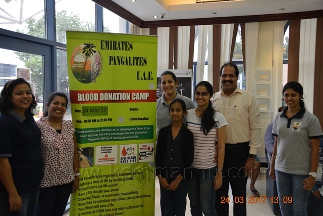Lenten Blood donation drive organized by Pangalites in UAE
