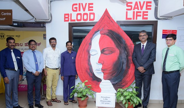 Blood donars day -2019 observed at KMC, Manipal.