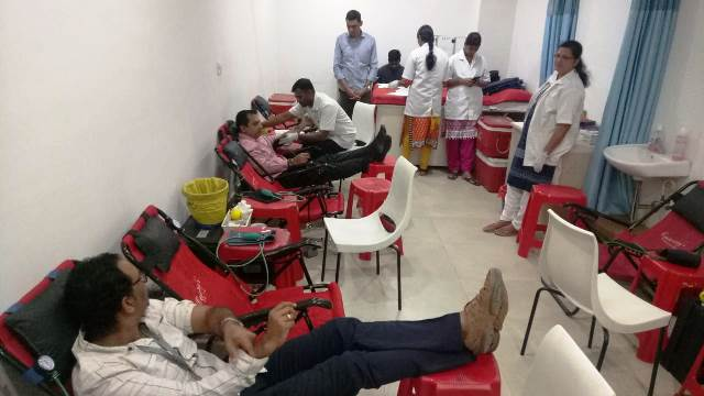 Baghirathi Group Organises Blood Donation Camp