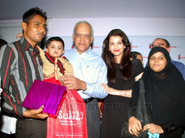 Aishwarya Rai Bachchan gifts a 100 surgeries to spread smiles for cleft children