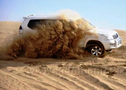 'Chalo Desert Safari' – a thrilling experience with the Belleans in Dubai.