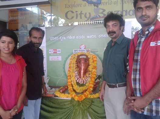Cine Star to visit 92.7 BIG FM's Big Green Ganesha