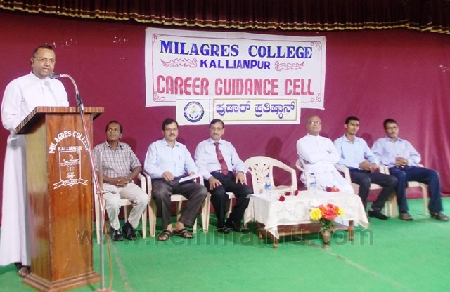 Grow with Technology and skills for Success - Fr. Stany Lobo at Career Guidance.
