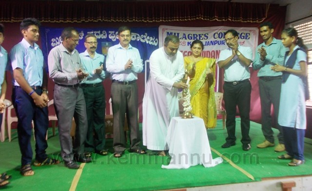 Career Guidance for PUC students held at milagres college, Kallianpur