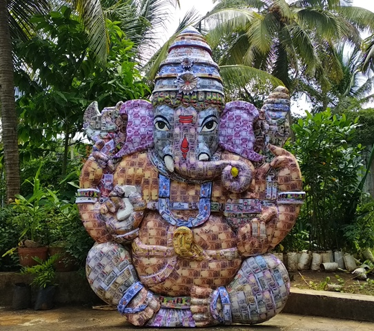 Udupi: Currency Ganesh by Srinath Manipal