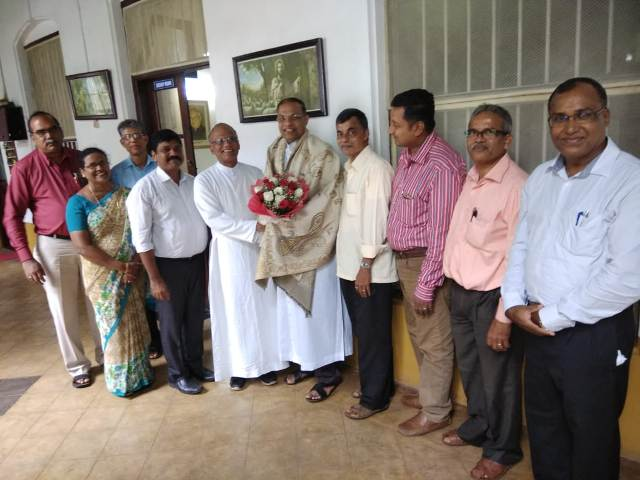 Catholic Sabha Udupi Pradesh Congratulated New Bishop of Mangalore.