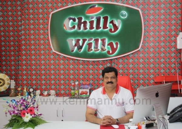 Sathisha's Chilly Willy Selected for Dubai SME 100 AWARD for 2015