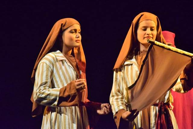 ICYM's biblical drama 'Claudia Procula' enthrals the viewers at Padua Grounds
