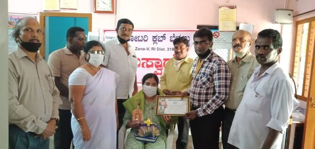 Belman Rotary club celebrate World doctor's day
