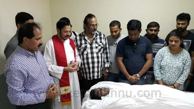 EDRIN D'SOUZA's MORTAL REMAINS TO FLY BACK TO MANGALORE - FUNERAL ON 25 JULY 8 AM