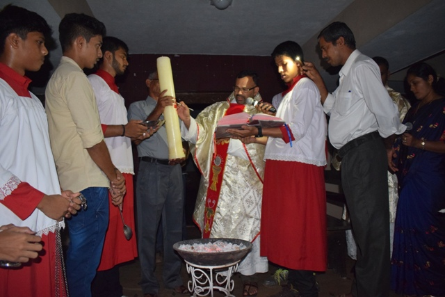EASTER VIGIL - ST. JOSEPH'S CHURCH BELMAN