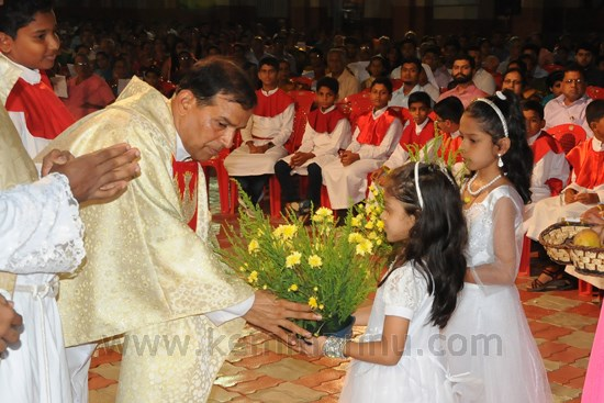 Easter Celebration in St John the Evangelist Church, Pangla, Shankerpura