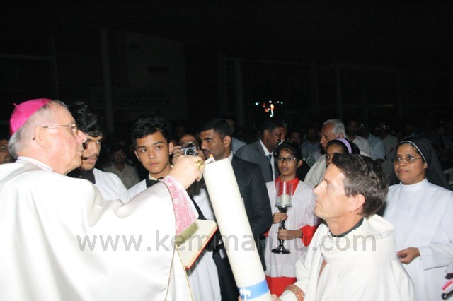 Easter Vigil at St. Joseph's Cathedral, Abu Dhabi.