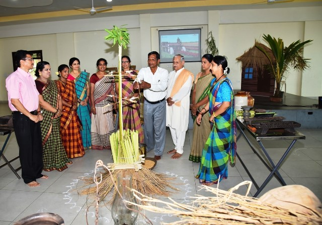 Farmers Day celebrated in Madhava Kripa School Manipal