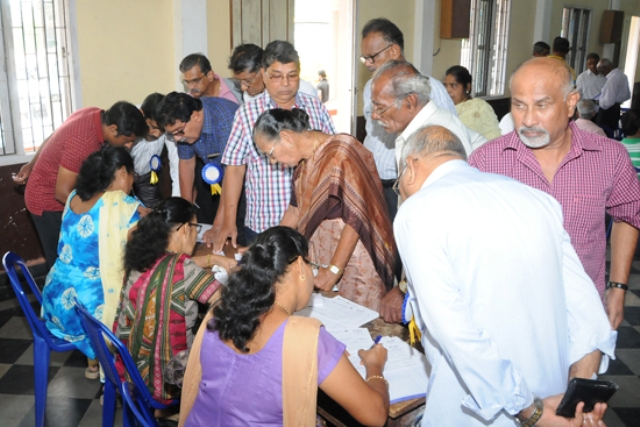Free Health Check-up Camp organised by Health Commission Unit of St. John The Evangelist Church and Rotary Club of Shankerpura
