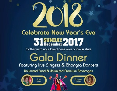 Grand New Year`s Eve 2018 Celebration at Fortune Group in Dubai