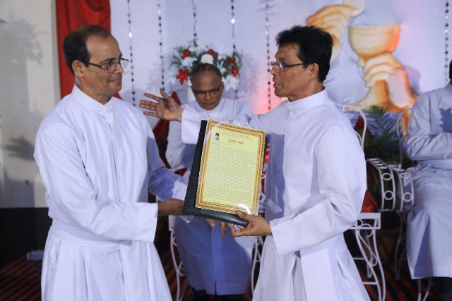 Congratulations to Fr. Wency Rodrigues - Sacerdotal Silver Jubilee Celebration