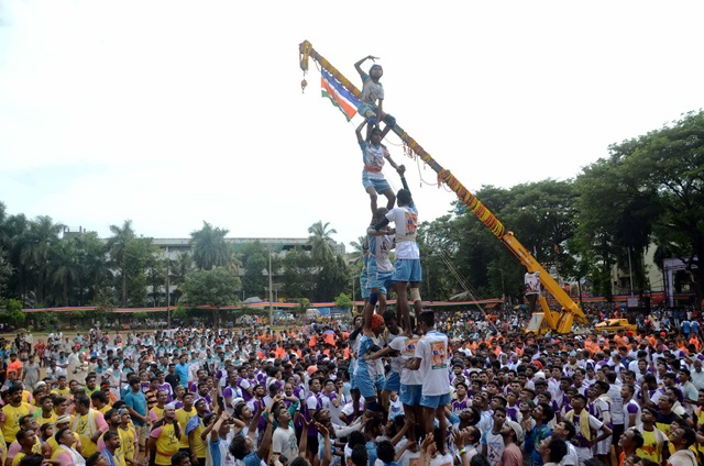Janmashtami celebrations in Mumbai