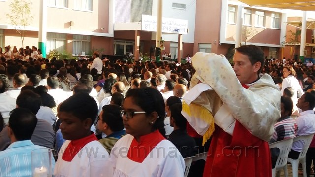 Good Friday observed at St. Joseph's Church, Abu Dhabi.