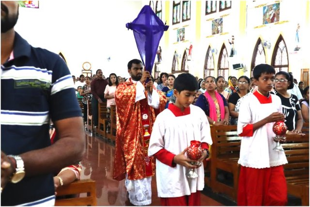 Good Friday Ceremony pictures from Mount Rosary, Kallianpur