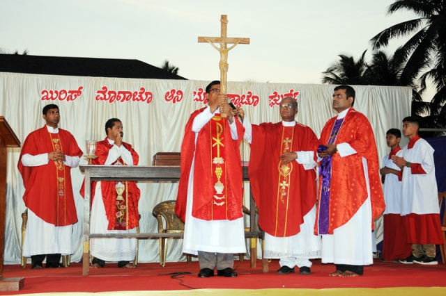 The Commemoration of passion of Christ was held at shankerpura church