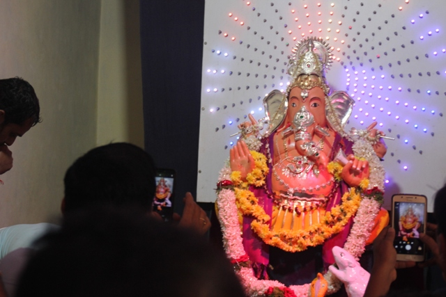 30th Thonse Sarvajanika Ganeshsova idol installed.