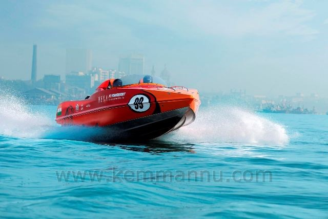 Mumbai: First UIM-recognized World Championship Series event to roar off
