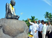 Gandhi Jayanthi Celebrated at various places in Udupi
