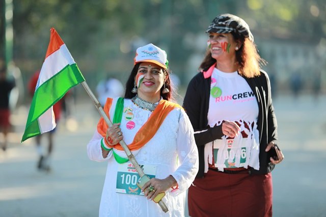 Grandmother's 10k run with Milind Soman o 26th January 2020