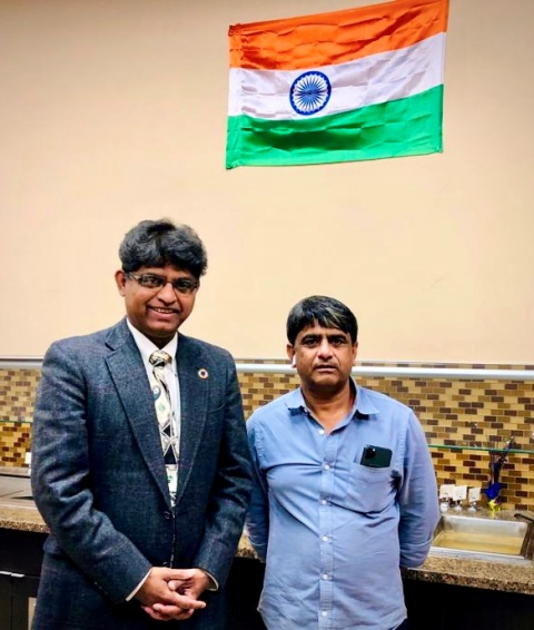 Bharat FM® invites Harold D'Souza to address on Independence Day