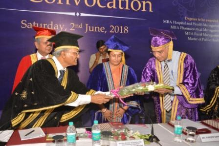 IIHMR University Hosts Convocation 2018