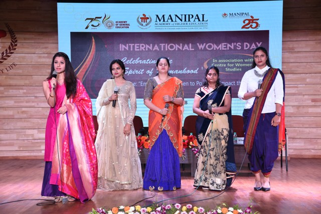 Manipal Academy of Higher Education Celebrates International Women's Day.
