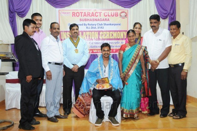 Installation Ceremony of Rotaract club subhasnagara