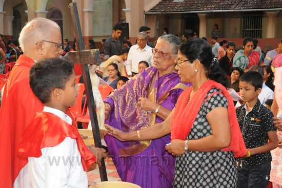 Maundy Thursday Celebration at Shankerpura Church