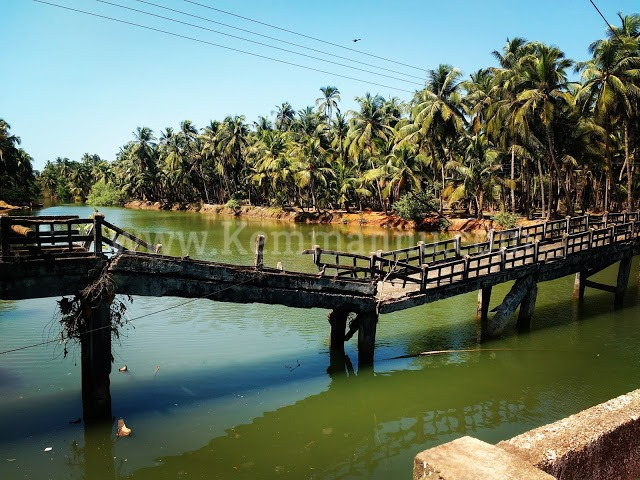 Historic old Bridge across River Swarna in Kemmannu may collapse anytime - Need urgent attention towards Demolition.
