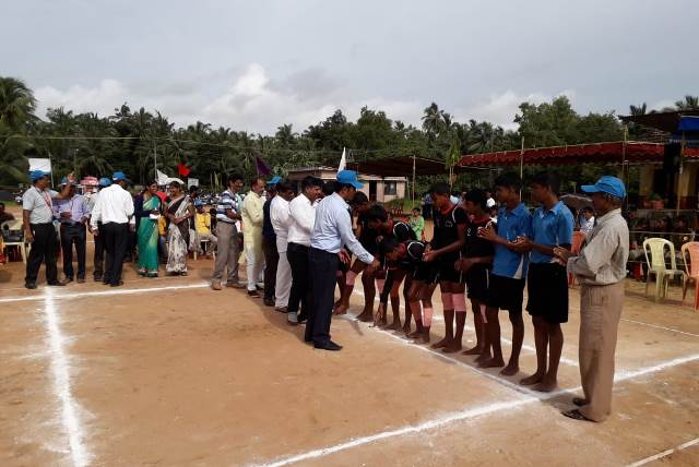 TALUK LEVEL KABADDI MATCH @ GOVT. JUNIOR COLLEGE KEMMANNU