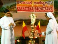 Kannada Rajyotsava Celebrations at St. Vincent Pallotti Church, Banasawadi, Bangalore