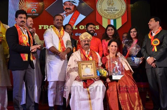 SHARJAH KARNATAKA SANGHA'S 15TH ANNIVERSARY & MAYURA AWARD FUNCTION A GRAND EVENT