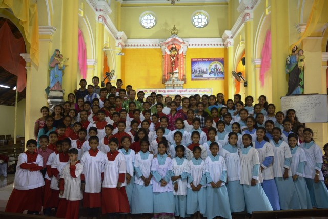 Sacred Heart of Jesus Church Madanthyar celebrates Altar Children's Feast