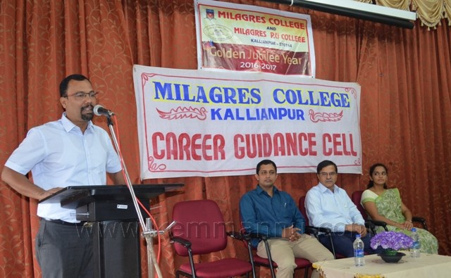 Inauguration of Training for Banking and other Competitive exams held at Milagres, Kallianpur.