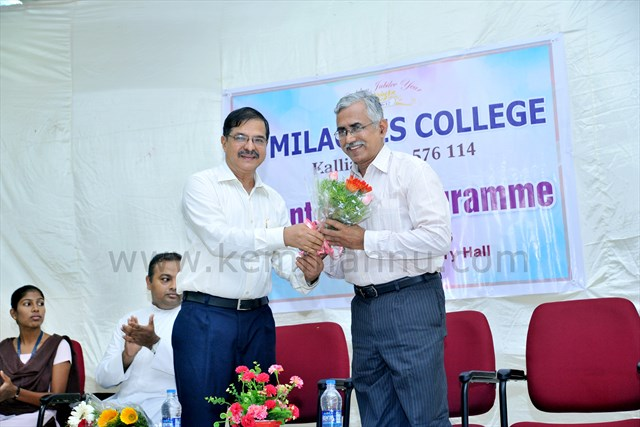 Orientation Programme and inauguration academic year 2016-17 held at Mialgres College Kallianpur