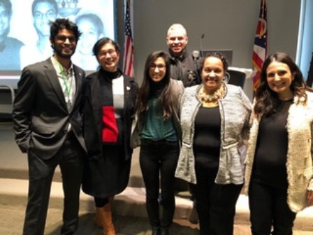 MANGALUREAN DANCY D'SOUZA INVITED TO SPEAK AT OHIO STATE HIGHWAY PATROL AT COLUMBUS