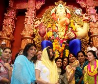 Celeb Spotting: At Ganesh Chaturthi Celebrations