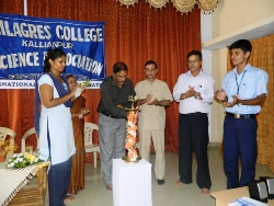 Inauguration of Science Association in Milagres College: Students to take inspiration from Sir Srinivas Ramanujan's life.