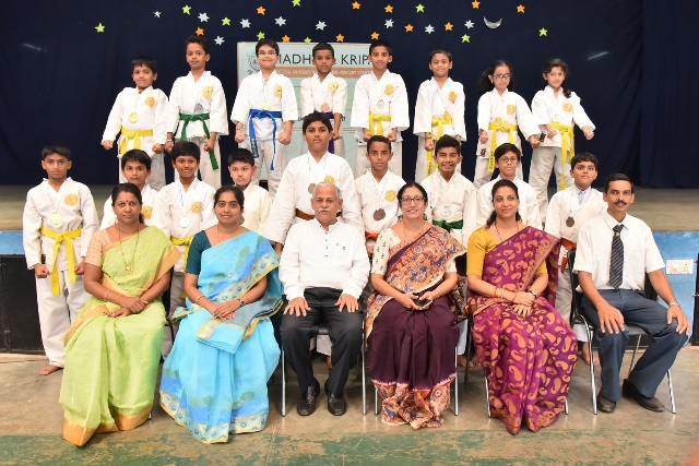 Madhava Kripa Students won First Prize in Chess Competition