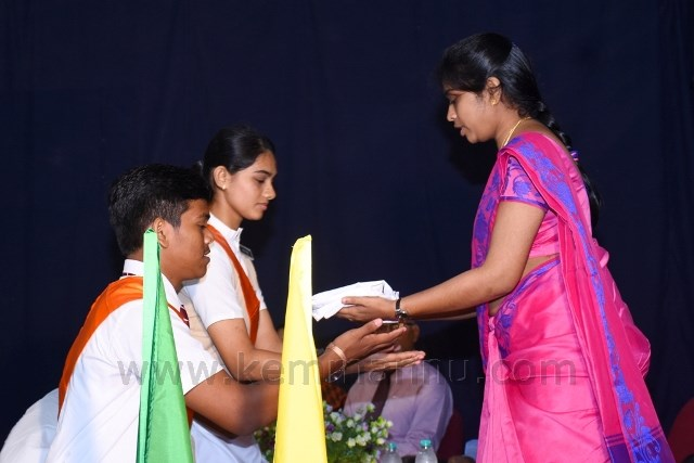 Investiture Ceremony held at Madhava Kripa School, Manipal