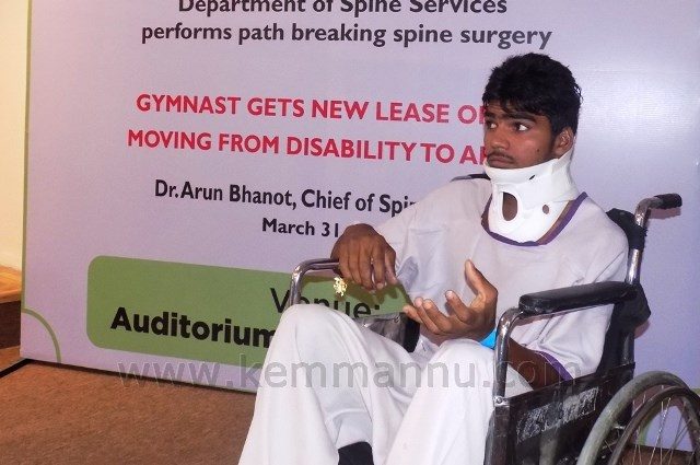 National-level Haryana Gymnast Shows Near-Miraculous Recovery after Spine Injury at Paras Hospitals, Gurgaon
